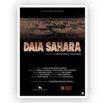 Imagen Gráfica para DAIA SAHARA. A Design, Events, Film Title Design, and Graphic Design project by Maria Navarro         - 15.07.2014