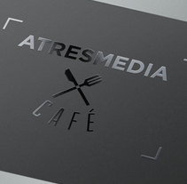 ATRESMEDIA CAFÉ. A Design, Art Direction, Br, ing&Identit project by Margarita Rodríguez Municio         - 16.07.2014