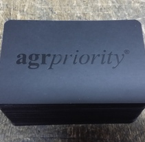 Nuevas tarjetas AgrPriority. A Design, Crafts, T, and pograph project by Alberto González  - Jul 18 2014 12:00 AM