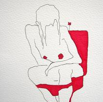 Placer de Baño, Originales: Tintas. Un proyecto de Ilustración de carmen esperón - 29-07-2014