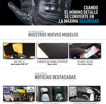 Guantes Arribas. A Web Design project by Carlos Cano Santos - May 05 2014 12:00 AM