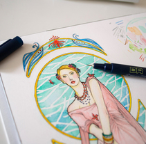 La Petite Fleur. A Design&Illustration project by Tamara Castro Laplaña - 04-08-2014
