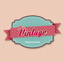 MISS VINTAGE. A Br, ing, Identit, and Graphic Design project by Esther Cerdá Garrido (Cerga)         - 06.08.2014