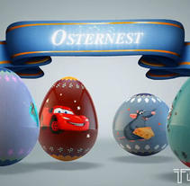 HAPPY EASTER 2013 - Promo - By TBDC. A 3D project by Dosher Infografica          - 09.03.2013