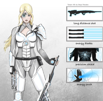 Concept Art. A Character Design, and Game Design project by Eva Roig         - 09.08.2014