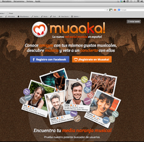 Muaaka! Música y amigos. A Web Development, Events, UI / UX, and Web Design project by Céline Alcaraz - Aug 13 2014 12:00 AM