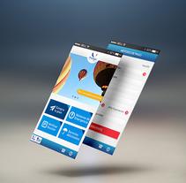 App Protege tu viaje. A UI / UX, and Web Design project by Mariana Vidal Perez         - 08.02.2012
