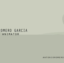 animation reel 2014. Um projeto de Animação de Antonio Romero Garcia         - 19.08.2014