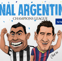 Caricaturas deportivas-sports cartoons. Un proyecto de Ilustración de Sebastian Ezequiel Caiafa         - 28.02.2015