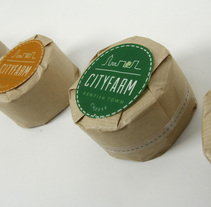 Cityfarm identity. A Br, ing, Identit, and Packaging project by Gloria Soria Cañete         - 20.08.2014