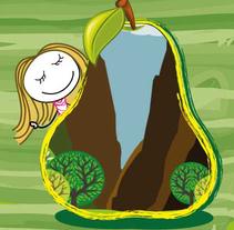 """Cuento infantil """"La niña de las peras"""". Um projeto de Ilustração, Design editorial e Design gráfico de Aliki Cau-Maf         - 14.04.2014"""
