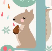 Medidor infantil. A Illustration project by Silvia Iglesias - Sep 01 2014 12:00 AM