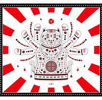 Neko. A Graphic Design&Illustration project by Sebastià  Gayà Arbona - Aug 03 2014 12:00 AM