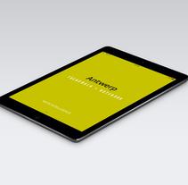Guía en App. Un proyecto de Diseño editorial y Diseño interactivo de Marina L. Rodil Garamond         - 03.09.2014