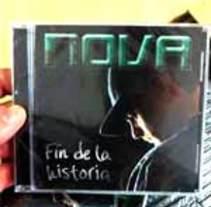 Portada disco NOVA. Un proyecto de Música, Audio y Diseño gráfico de Maria Jiménez         - 12.02.2015