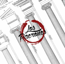 "DISEÑO ""BAR LOS PAERONES"": LOGO Y CARTA. A Illustration, and Product Design project by Álvaro Parra Romo         - 04.09.2014"