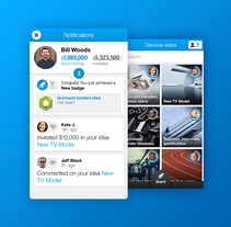 Nextinit Mobile App. A Illustration, UI / UX&Interactive Design project by Jimena Catalina Gayo         - 31.05.2014