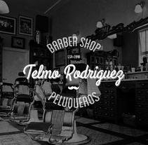 Telmo Barber Shop. Un proyecto de Br, ing e Identidad, Diseño gráfico y Diseño Web de TheTrendingMarket - Lunes, 08 de septiembre de 2014 00:00:00 +0200