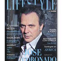 Rediseño LIFESTYLE. BCN 2012. Um projeto de Design editorial de Jordi Lagunas         - 15.01.2012