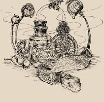 Venenum. Un proyecto de Ilustración y Bellas Artes de AlabamaKiller Marta Castilla         - 02.08.2014