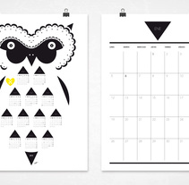 Calendario 2014-2015. A Illustration, Character Design, Editorial Design, Graphic Design, T, and pograph project by Elvira Rojas         - 16.09.2014