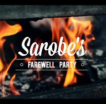 Sarobe's Farewell Party. Un proyecto de Cine, vídeo y televisión de Jaime Rubio Díaz         - 17.09.2014