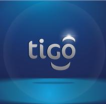Animación Intro Logo Tigo Guatemala. Un proyecto de Motion Graphics y Animación de Bernardo Osegueda         - 22.09.2014