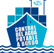 Control del agua potable a bordo > Campaña para el ISM. Un proyecto de Diseño editorial de Kiko  Fraile - 22-09-2014