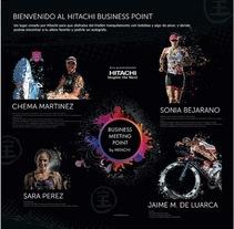 Promoción Triatlón Hitachi XMTB Casa de Campo. A Graphic Design project by Jose Balaguer Aledon         - 23.09.2014