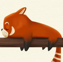 Red Panda. Un proyecto de Ilustración y Diseño de personajes de Marta García Pérez - 23-09-2014