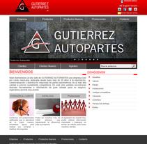 Gutierrez Autopartes - Sistema administrativo. A Information Design, Web Design, and Web Development project by Ernesto Gutiérrez Andrade         - 08.08.2006