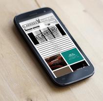 web El Arriero. A Web Design project by Carlos González - 25-09-2014