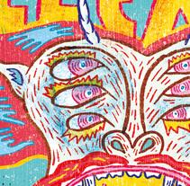 METALLICA. Un proyecto de Ilustración y Diseño editorial de Del Hambre  - 28-09-2014