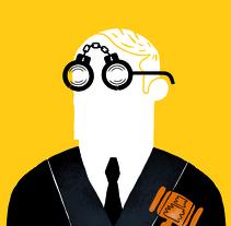 Portada LA MAREA. Un proyecto de Ilustración y Diseño editorial de Del Hambre  - 28-09-2014