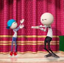 The Magic Show. A 3D, Animation, and Motion Graphics project by Leframe Audiovisual Design Leonardo Pereira - Sep 24 2014 12:00 AM