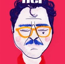 Her - Joaquin Phoenix. A Illustration, Fine Art, and Graphic Design project by Olga M.         - 03.10.2014