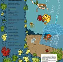 Yo en el fondo del mar. Um projeto de Design, Ilustração, Design de personagens e Artes plásticas de Miquel Mansachs         - 07.10.2014
