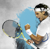 Rafa Nadal. A Design, Advertising, and Art Direction project by Xavier Julià - 18-08-2012