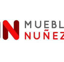 Logotipo Muebles Nuñes. Un proyecto de Diseño, Br e ing e Identidad de Javier Díaz González - 14-10-2014