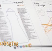 Packaging Approx. Un proyecto de Br, ing e Identidad, Diseño gráfico, Packaging y Diseño de producto de Maria Clares Gonzalez         - 29.02.2012