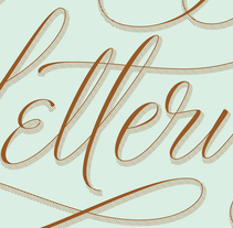 Lettering Lettering. A Design, T, and pograph project by Martina Flor - Oct 20 2014 12:00 AM