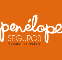 Penélope Seguros Branding. A Advertising, Art Direction, Br, ing, Identit, and Web Design project by Mapi Bg         - 21.10.2014