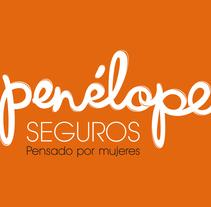 Penélope Seguros Branding. Um projeto de Publicidade, Direção de arte, Br, ing e Identidade e Web design de Mapi Bg         - 21.10.2014