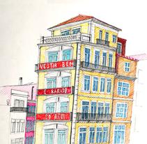 Oporto . A Illustration project by César Calavera Opi - Oct 22 2014 12:00 AM