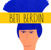 Volcanita (Beti berdin) . A Illustration project by Maite Caballero Arrieta         - 22.10.2014