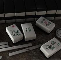 麻将 Diseño de Mah-Jongg. Um projeto de Ilustração, 3D, Design de jogos e Design de produtos de Ralf Thomas         - 26.10.2014