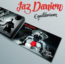 Jaz Danion 'Equilibrium'. Um projeto de Design, Br e ing e Identidade de Alberto Álvarez         - 27.10.2014