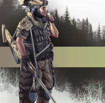 Francotirador . A Character Design project by Julen Aranguren Valluerca         - 16.10.2014