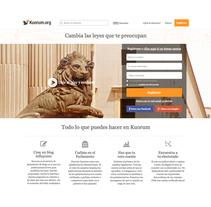 www.kuorum.org. A Web Development project by Abigail Rodríguez Rodríguez - Jun 10 2014 12:00 AM
