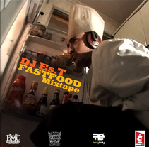 DJ Es.T - Fastfood Mixtape Covers. A Music, Audio, Photograph, Graphic Design, and Packaging project by Naone  - 13-06-2010